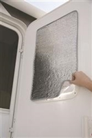 ENTRY DOOR WINDOW SUNSHIELD COVER