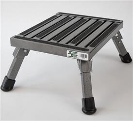 Small Step Stool Silver