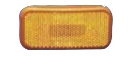 COMMAND RECTANGULAR LENS AMBER