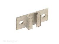 CURTAIN TRACK MOUNTING BRACKET CEILING MOUNT 2PK
