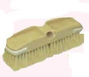 WASH BRUSH HEAD STIFF TAMPICO 10""