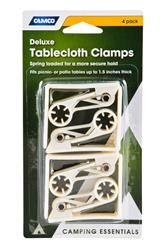 DELUXE TABLECLOTH CLAMPS 4PK