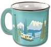 CAMPING RV TRAVEL MUG CUP BIRDS EYE VIEW