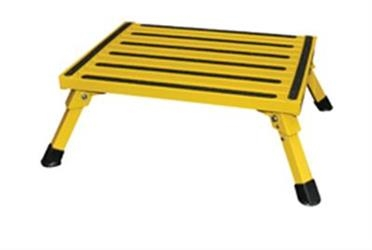 Folding Step Stool Yellow