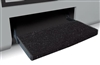 "JUMBO WRAPAROUND 23"" STEP RUG BLACK"
