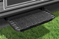 STEP RUG WRAPAROUND, BLACK