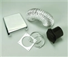DELUXE CHROME DRYER VENT KIT