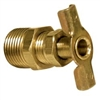 ATWOOD WATER HEATER DRAIN VALVE 1/2""