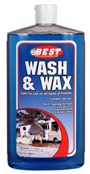 BEST RV WASH WAX CONCENTRATE, 32OZ