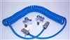 BLUE OX 4 WAY COILED ELECTRICAL CABLE