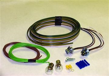 BLUE OX TAIL LGHT BULB WIRING KIT