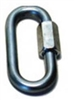 TRAILER SAFETY CHAIN QUICK LINK RAPID LINK 3/8""
