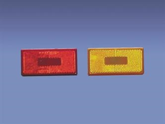COMMAND RECTANGULAR CLEARANCE LIGHT SQUARE CORNER AMBER