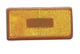 COMMAND RECTANGULAR CLEARANCE SQUARE CORNER AMBER LENS