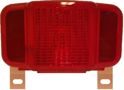 PETERSON TAILLIGHT WITH LICESE PLATE BRACKET M457L