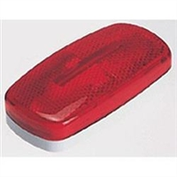 BARGMAN 59 REPLACEMENT RED LENS, 34-59-010