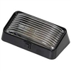 PORCH LIGHT BLACK BASE WITH SWITCH CLEAR LENS COMPLETE