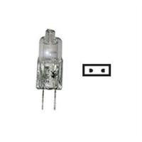 LIGHT BULB #JC10W HALOGEN 2PK, 16747