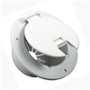 DELUXE ROUND ELECTRICAL HATCH WHITE