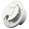 ELECTRICAL ROUND CABLE HATCH DOOR WHITE, S-23-10-A