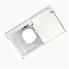 DUPLEX WEATHERPROOF OUTLET COVER WHITE