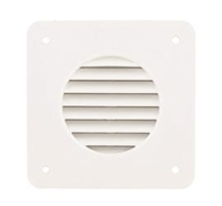 BATTERY BOX VENT LOUVER WHITE