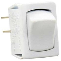 MINI 12 VOLT SWITCH ON/OFF WHITE, 13645