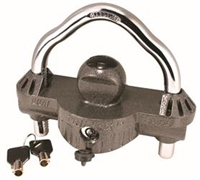 TRAILER COUPLER HITCH LOCK