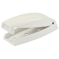 WHITE BAGGAGE DOOR CATCH 2PK