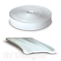 VINYL INSERT TRIM, 25FT WHITE