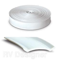 HEAVY DUTY VINYL INSERT TRIM, 25FT WHITE