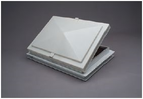 "17"" X 24"" ESCAPE HATCH VENT, WHITE 48621-C2"