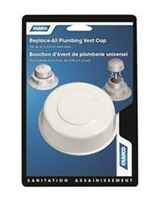 PLUMBING VENT CAP ONLY, WHITE