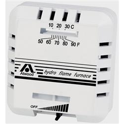 Atwood Hydroflame Furnace Thermostat White