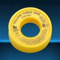 YELLOW TEFLON TAPE FOR LPG GAS