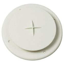 HEATING COOLING REGISTER VENT ROUND, WHITE, A10-3354VP